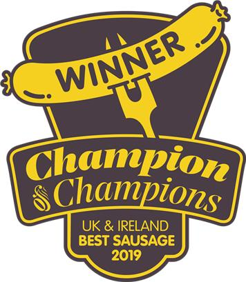 Champion of Champion - Greenfield Farm Shop - The Champion Sausage