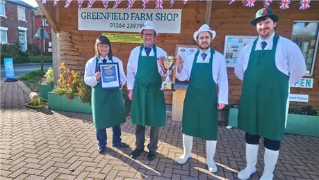The Martindale family - Greenfield Farm Shop - The Champion Sausage